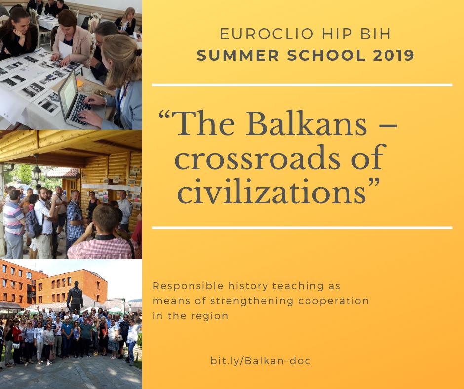 """""""Balkan – raskrsnica civilizacija. Odgovorna nastava istorije kao sredstvo jačanja saradnje u regiji"""""""